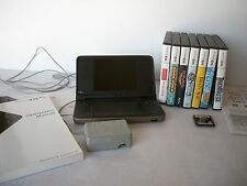 NINTENDO DSi XL AND 8 GAMES - DSi XL GAME CONSOLE - DSi GAMES