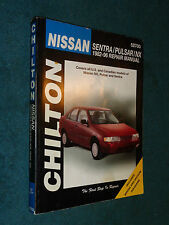 1982-1996 NISSAN SENTRA / PULSAR / NX SHOP MANUAL / CHILTONS BOOK 95 94 93 92 91