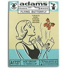 Adams' Flying Butterfly Close Up Magic Trick Magical Joke Trick Prank Wind Up