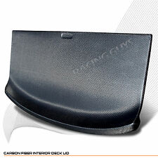 For 1989-1994 Nissan 240SX S13 Hatchback Carbon Fiber Rear Trunk Deck Lid Cover