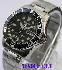 BRAND NEW SEIKO 5 SPORTS AUTOMATIC SNZF17K1 SUBMARINER SCUBA DIVERS WATCH