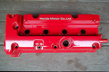 Powdercoated Valve Cover Honda K20 K-series Gloss Red K20A2 K20Z DOHC VTEC K24