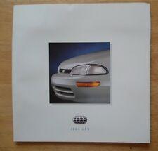 Geo Gama 1994 Usa mercado de gran formato folleto de ventas-Prizm Metro Tracker