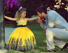 Flower Girl Dresses for Princess Prom BallGown Pageant Party Birthday WeddingC