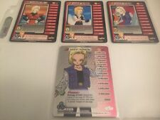 Dragon Ball Z CCG Android 18 Lvl 1-3 W/HT Lvl 3 Unlimited!! Cell Saga!!