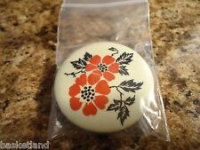 Hall Red Poppy Pattern China Specialities REFRIGERATOR MAGNET