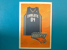 2009-10 Panini NBA Basketball n.122 Team Kit Charlotte BOBCATS