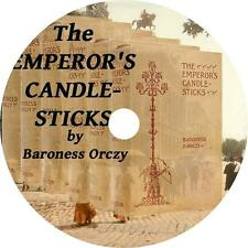 The Emperor's Candlesticks, Baroness Orczy Russian Kidnap Audiobook on 1 MP3 CD