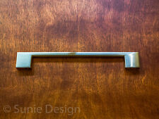 "Pack of 5, Modern 7.5"" Brushed Nickel Kitchen Cabinet Rectangular Handle Pull"