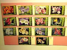 BAHAMAS: 2006 Flowers Paintings. 14vals to $10 MNH Sg1425/38