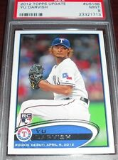 YU DARVISH 2012 Topps Update #US168 ROOKIE RC PSA 9 MINT TEXAS RANGERS JAPAN