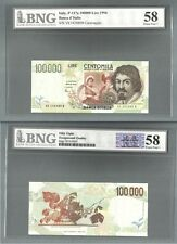 ITALY P-117a 100000 LIRE 1994 BNG 58 EXTRA FINE + EF+ XF+