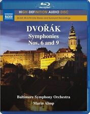 Dvorak: Symphony Nos. 6 and 9 (Blu Ray Audio), New Music