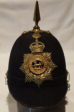 Pre WW1 British Home Service Leicestershire Spiked Helmet 1912 Size 6 7/8