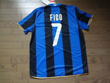 Inter Milan #7 Figo 100% Original Jersey Shirt L BNWT NEW 2008/09 Home Rare