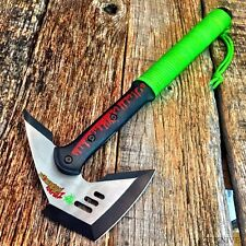 "17"" ZOMBIE SURVIVAL CAMPING TOMAHAWK THROWING AXE BATTLE hunting Hatchet knife"