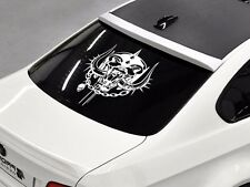 Motorhead band Rock metal music rear window hood body logo vinyl Stickers Decals