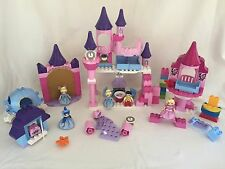 LEGO DUPLO 144pc Disney Princess Cinderella Sleeping Beauty Castle & A Lot More