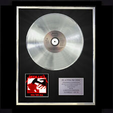 METALLICA KILL 'EM ALL   CD PLATINUM DISC FREE P+P!!