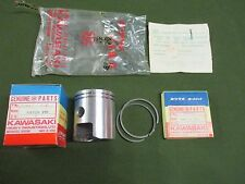 KAWASAKI B8S 150 SUPER 1965 PISTON & RINGS STD NOS OEM 13008-012 13001-016