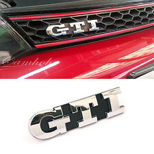 Volkswagen VW Golf 5  6 GTI  Logo Front Grille Emblem Chrome Badge Mark5 MK5 MKV