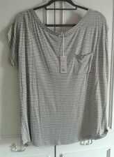 Linea weekend XL at house of fraiser khaki stripe jersey NWT