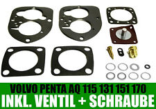 VOLVO Penta/SOLEX 44 pai CARBURATORE pa1/Set di tenuta AQ 115, 125, 130, 131, 170