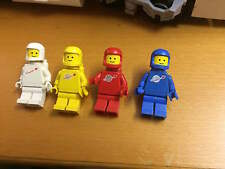 4x Omini Minifig Lego Classic space anni 80 minifigure
