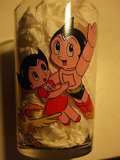 TF1 verre à moutarde French Drink Glace TEZUKA ASTRO BOY 1984
