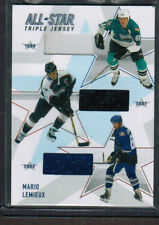 02-03 BAP Memorabilia All-Star Triple Jerseys #ASTJ10 Mario Lemieux /50 (r 2779)