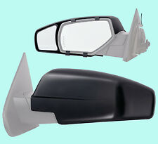 2 CLIP-ON TOWING MIRRORS tow extension extend side rear view hauling extender cg