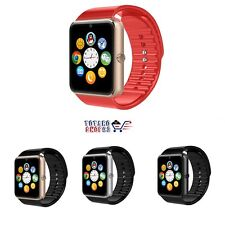 SMART WATCH GT08 CON FOTOCAMERA BLUETOOTH CON SIM GSM GPRS PER ANDROID E IOS