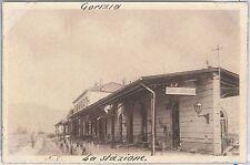 CARTOLINA d'Epoca - GORIZIA - REPARTO FOTOGRAFICO COMANDO SUPREMO #8 la STAZIONE