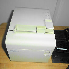 EPSON TM-T90 POS THERMAL CHECKOUT COUPON RECEIPT PRINTER  M165A - ETHERNET INT/F