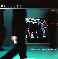 CD SINGLE promo BEE GEES this is where I came in SPANISH rare 2000