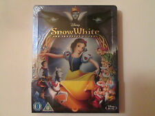 Snow White and the Seven Dwarfs Steelbook (Blu-ray)Region Free OOP NEW Disney