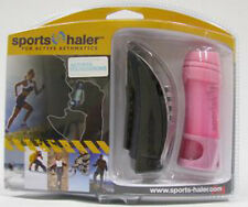 Sports-Haler Asthma Inhaler Cover With Accessory Pack Black