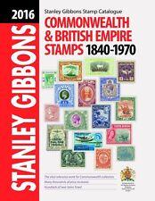 2016 Commonwealth e Impero Britannico TIMBRO catalogo Stanley Gibbons