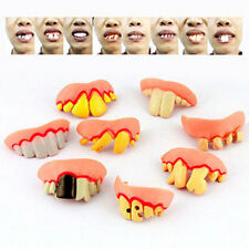 Cosplay Dead Zed Zombie SET Ugly Fake Gag Tooth for costume parties Kids Toys