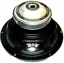 "Pioneer Vintage Sub-Woofer (TS-W252F) 400W 10"" Single 4 ohm Car Subwoofer"