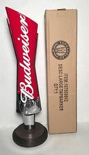 "Budweiser Bow Tie 13"" Tall Beer Tap Handle - Brand New In Box"