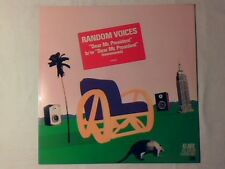 "RANDOM VOICES Dear mr. President 12"" USA UNIQUE MAI SUONATO UNPLAYED!!!"