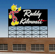 Reddy Kilowatt Animated Billboard Sign for HO O S Scale Miller 3681