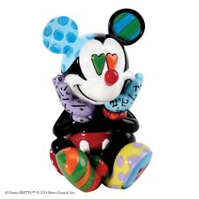 Disney by Romero Britto Mickey Mouse Mini Figurine Ornament Figure 6.5cm 4026292