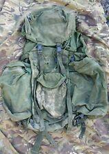 Original British Army OG Olive PLCE Bergen long back 100 litres Webbing Infantry