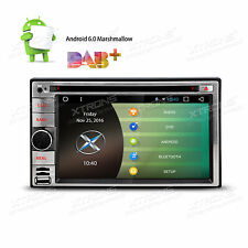 """Android 6.0 3G WIFI 7"""" Double 2DIN Car Radio Stereo DVD Player GPS Nav Bluetooth"""