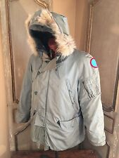 US Military USAF Cold Weather N-3B N3B SNORKEL PARKA JACKET COAT MODIFIED Size M