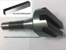 New Fly Cutter R8 Shank For Bridgeport Milling Machine +HSS Bit