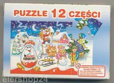 Ü-Ei WERBEPUZZLE Weihnachten von Ferrero Polen ungeöffnet & sehr selten!!!