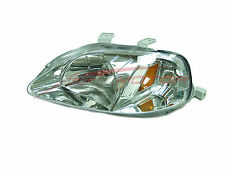 1999-2000 Honda Civic Driver Side Headlight Head Light Lamp LH